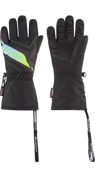 Roeckl Alba Handschoenen zwart/turquoise